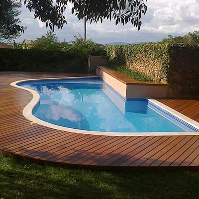 Deck de madeira em Guarulhos oferece proteção e sofisticação
